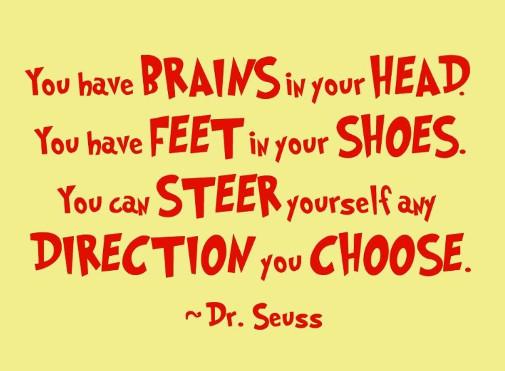 Dr Seuss motivation