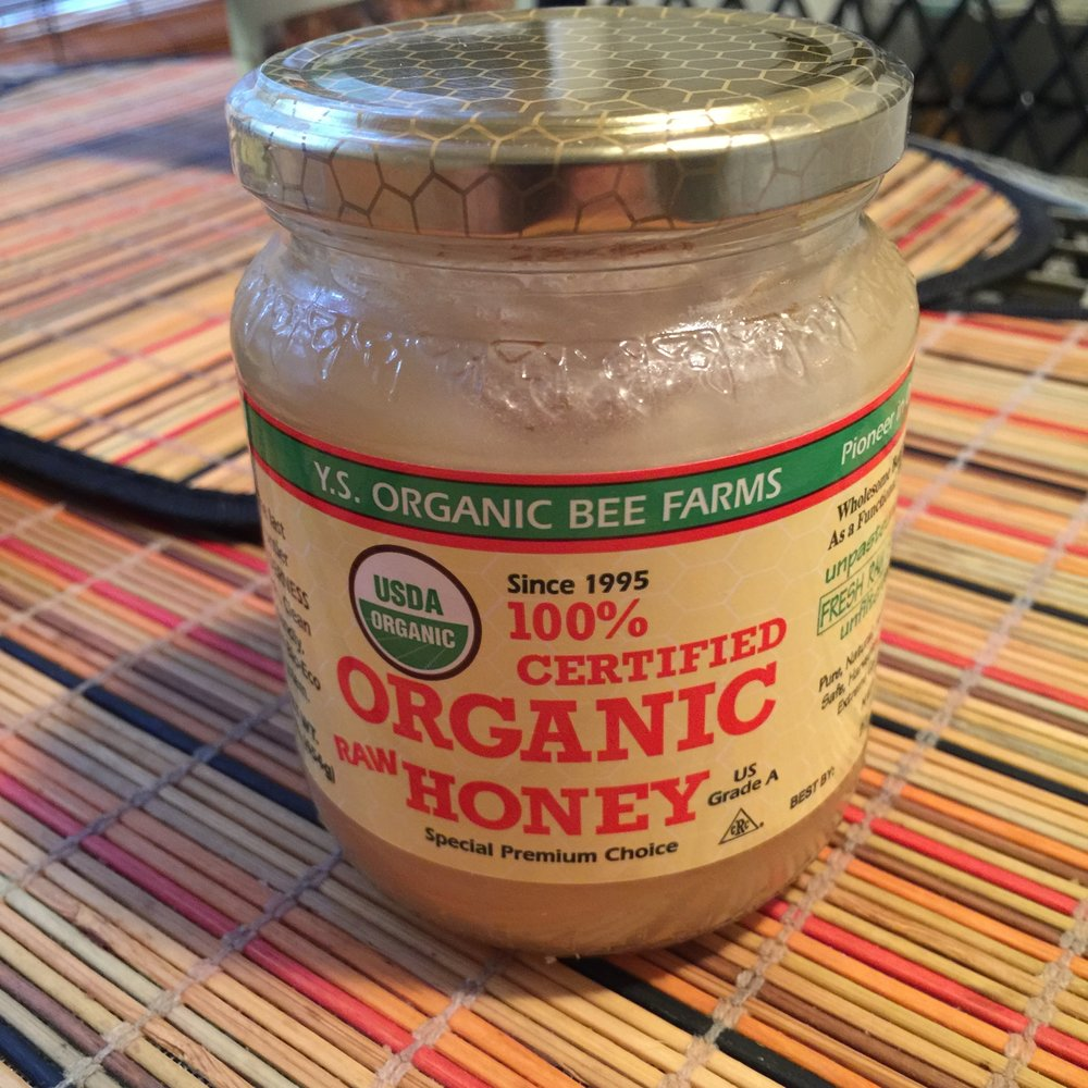 This might be the best Honey I ever put in my mouth ! its really thick almost like Caramel I picked it up at Whole Paycheck .