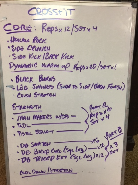strength wod