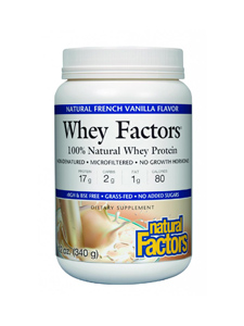 Natural Factors Whey protein Concentrate: Grass Fed &  Undenatured