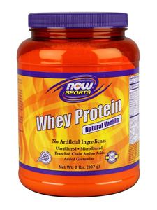 Now Foods : Whey Protein mix       (Concentrate & Isolate)