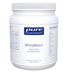 Pure Encapsulations :Whey Protein Isolate. ( Grass Fed, undenatured)