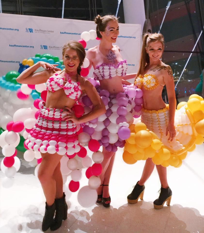 Cheap Wedding Dresses Kc: Molly Balloons