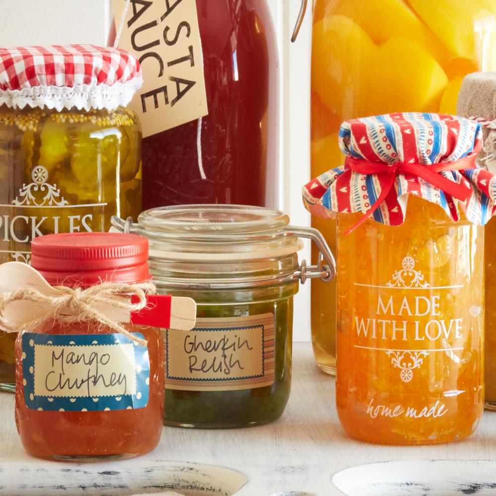 Preserving Jars -