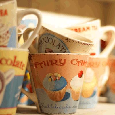 Retro Mugs -