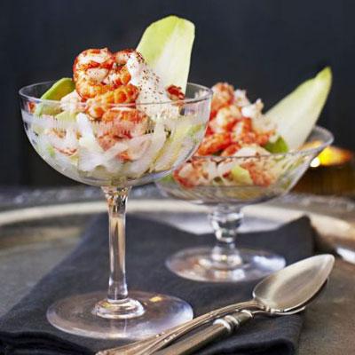 Horseradish Cream & Crayfish Coctail - Cook & Bakeware