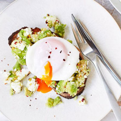 Poached Eggs & Avocado On Toast - Cook & Bakeware