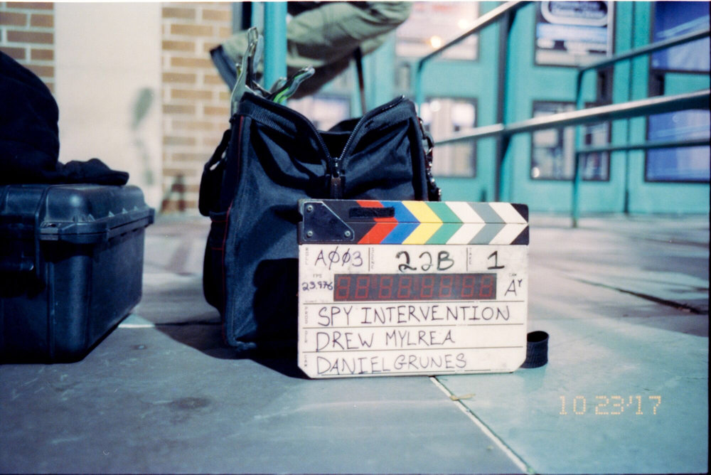 1) slate from first day of production