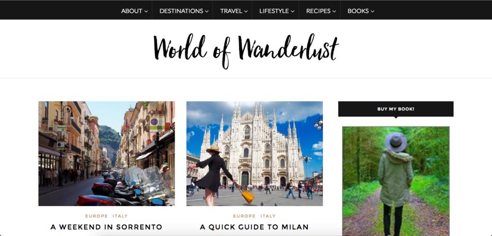 World Of Wanderlust ScreenPrint