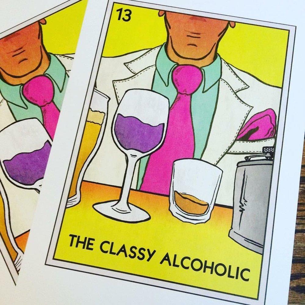 GeorgeHage_TheClassyAlcoholic-Poster.jpg