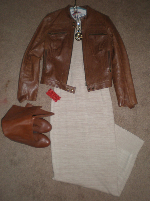 Knit-Maxi-Leather-Jacket