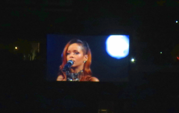 Rihanna concert at staples center