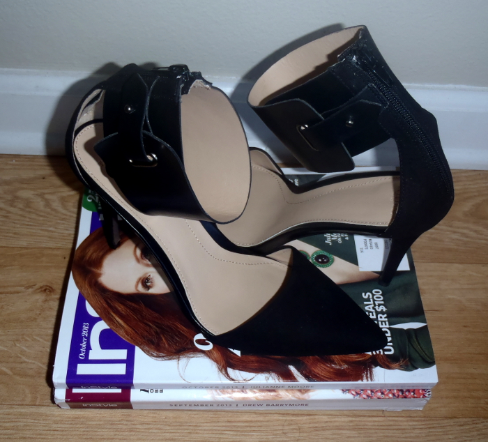zara ankle strap shoes