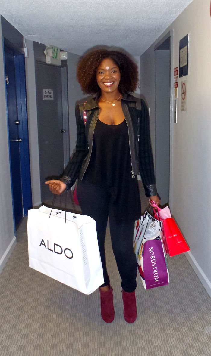 shopping, nordstrom, aldo, victoria's secret, natural hair
