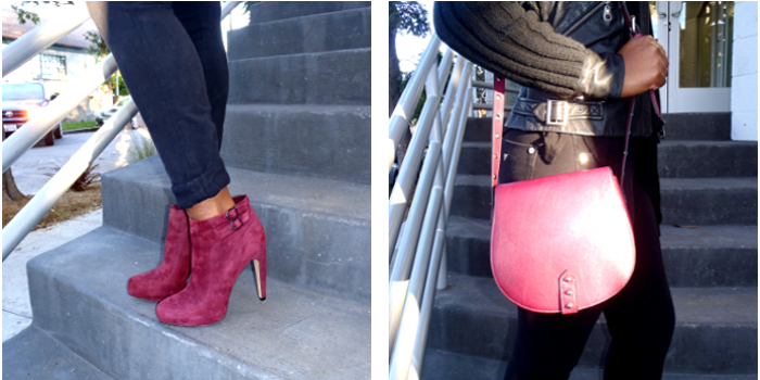 crossbody bag, sam edelman booties