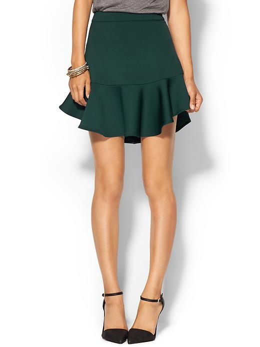 Piperlime collection neoprene flounce skirt