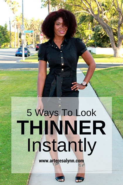 5 Ways To Look Thinner Instantly