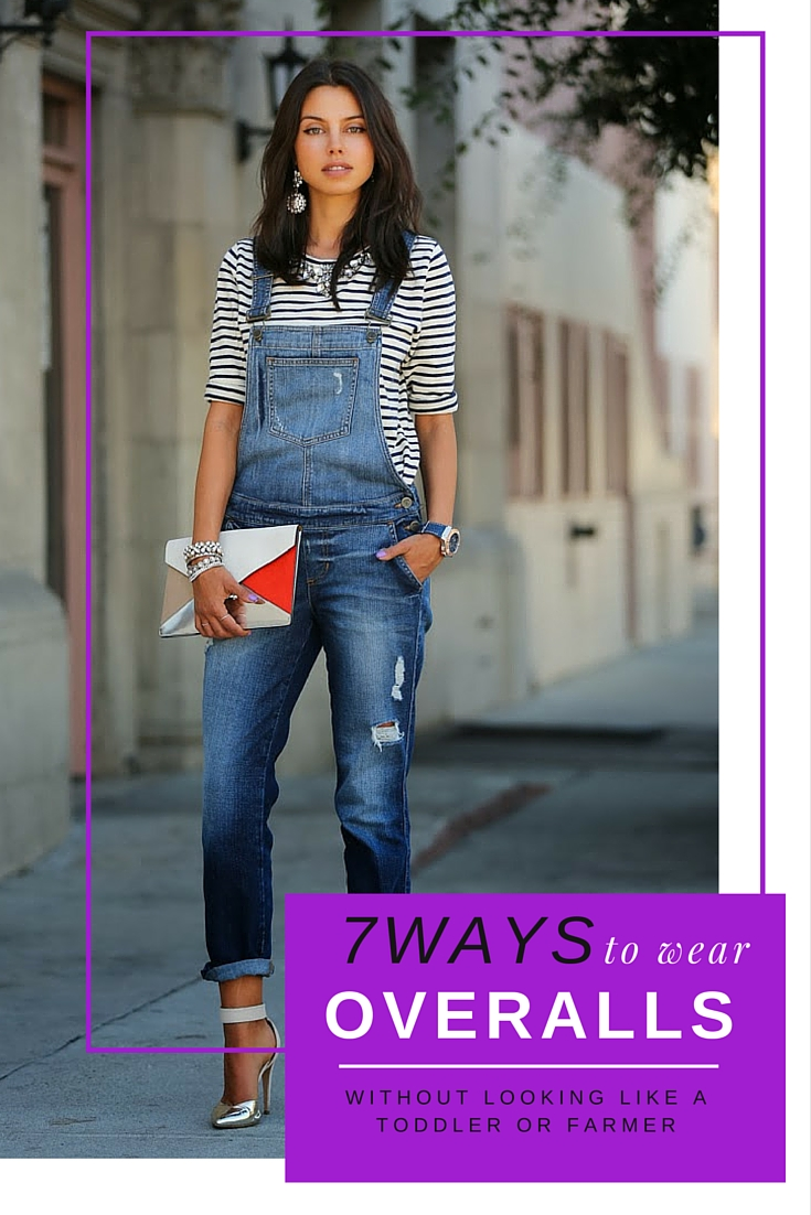 7 Ways To Wear Overalls