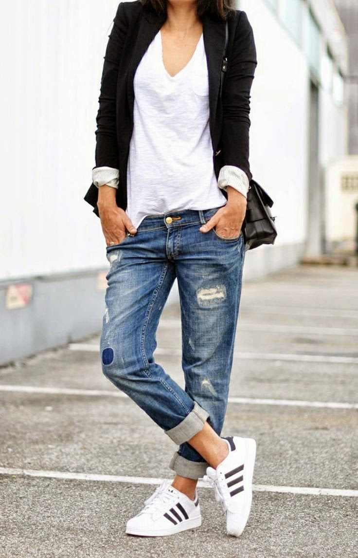 5 Stylish Ways To Wear Boyfriend Jeans