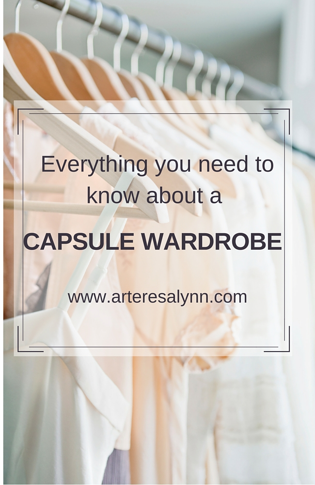 What is a capsule wardrobe? Everything you need to know about a capsule wardrobe. All of your questions are answered!