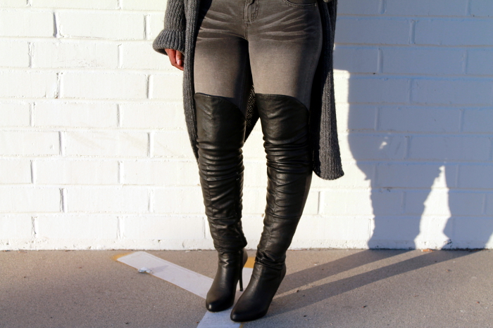 Over the knee boots by Report Signature