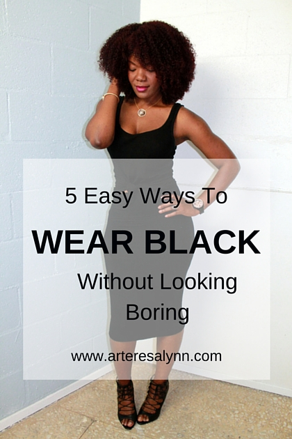 5 Ways To Wear Black Without Looking Boring