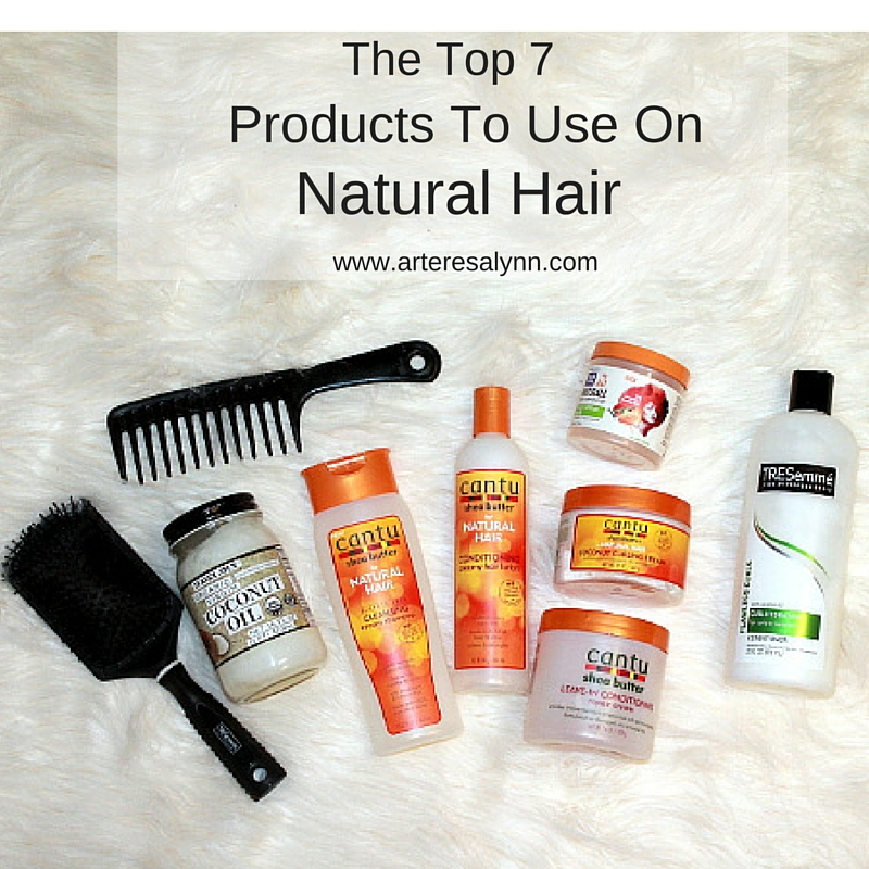 The Top 7 Products To Use On Natural Hair
