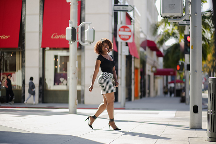 la blogger, black natural hair blogger in los angeles