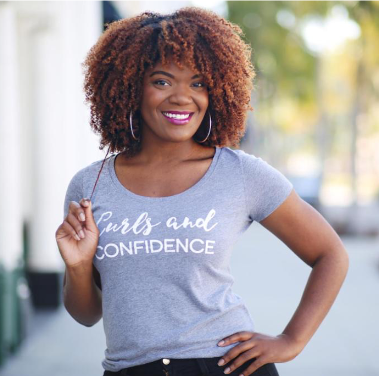 natural hair graphic tee, inspiration tees and tanks