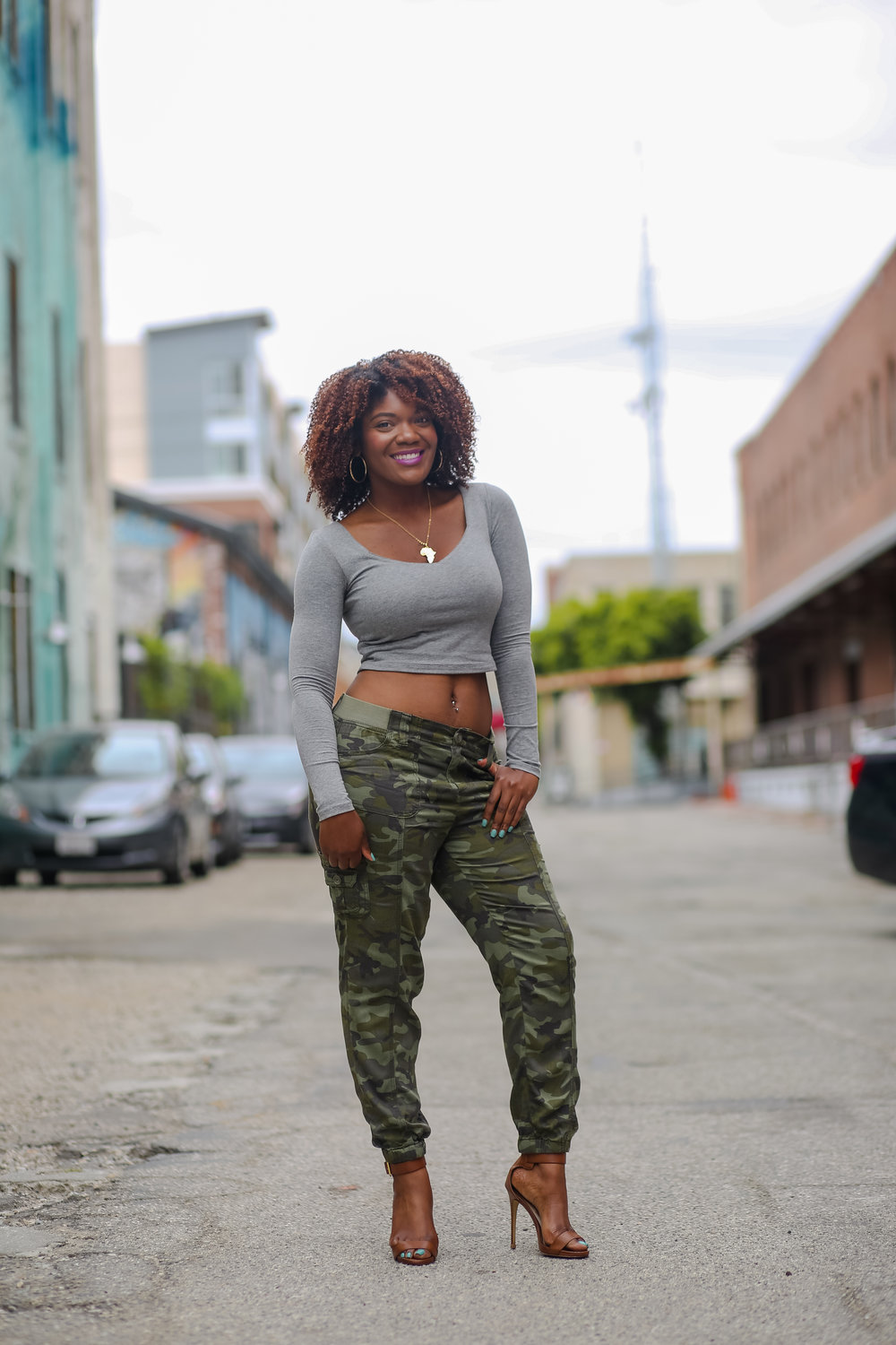 picture Outfits with Camo Pants-23 Ways To Wear Camo Pants Stylishly