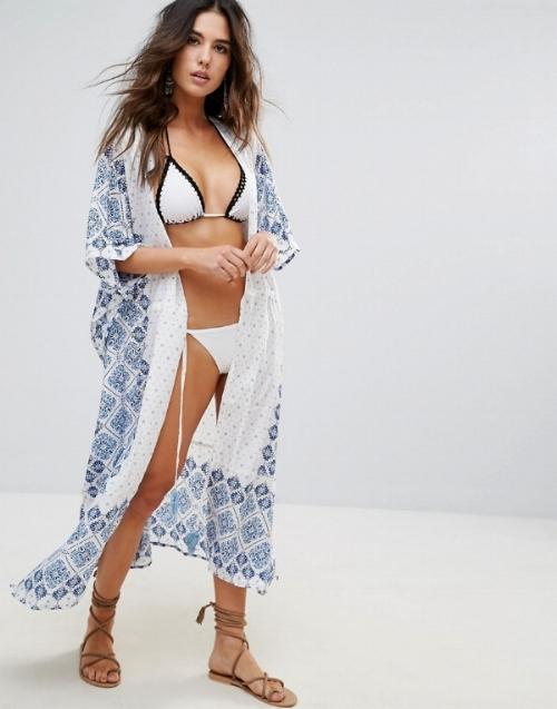 Anmol Printed Kimono