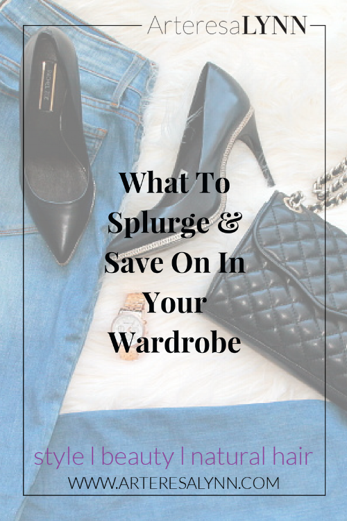 What To Splurge And Save On In Your Wardrobe