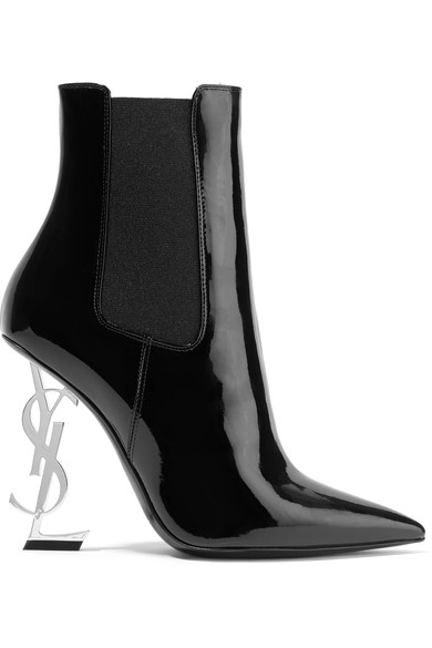 Saint Laurent Patent Leather Ankle Boots.jpg