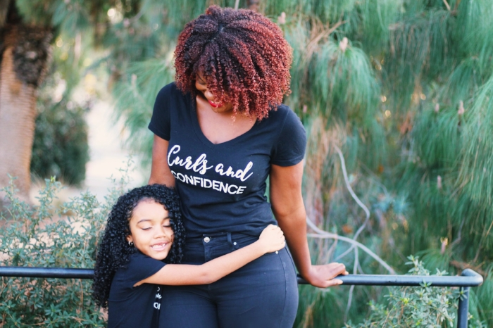 Natural hair tees for women