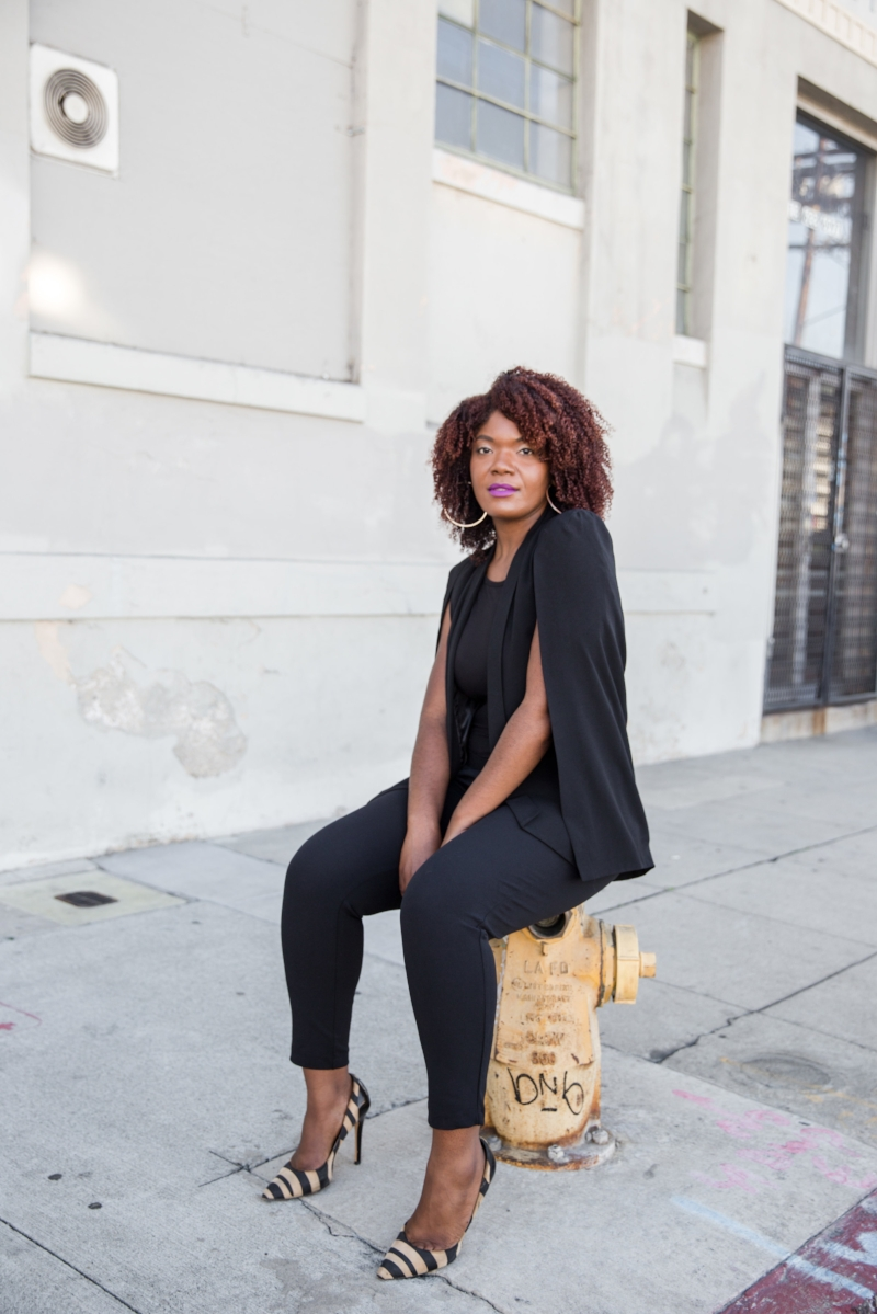 African American Los Angeles Style Blogger/ Natural Hair Blogger