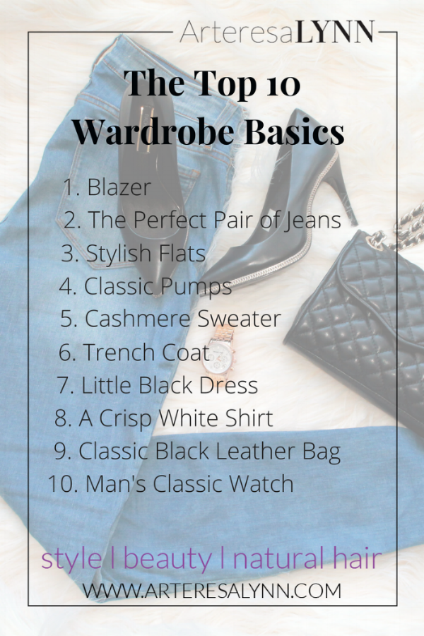 Top 10 Basics That Every Woman Needs In Her Closet