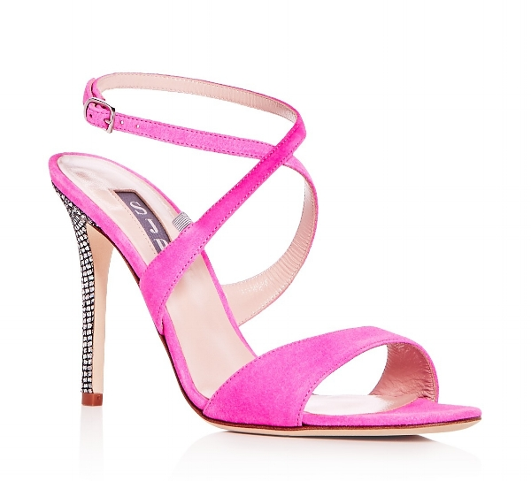 SJP by Sarah Jessica Parker Elektra Suede Crisscross High Heel Sandals.jpg