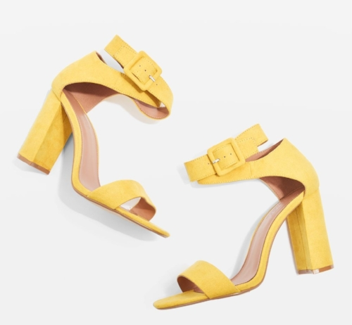Topshop Sinitta Two Part Sandals
