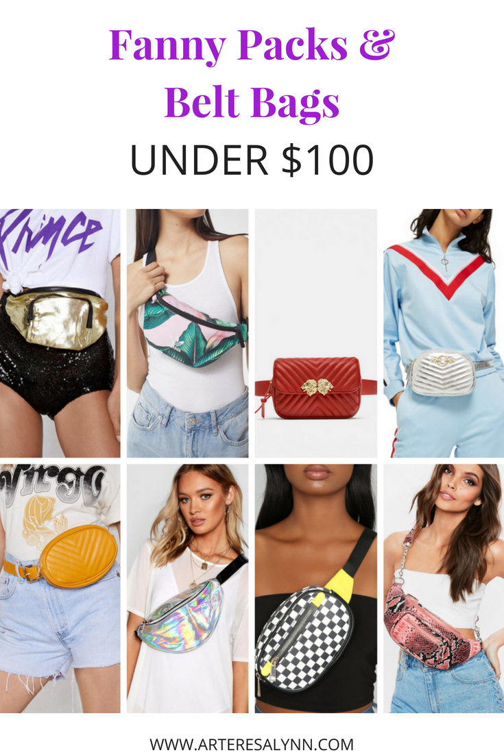 1ad9bf9b700a Summer Fanny Packs   Belt Bags Under  100 — Arteresa Lynn