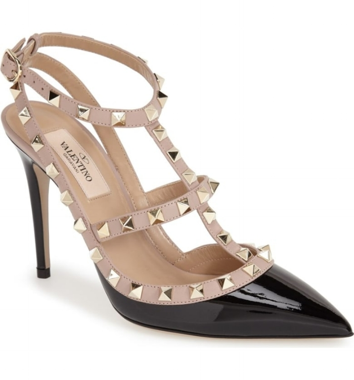 SHOEGASM TUESDAY: Valentino Rockstud T-Strap Pump (Patent Leather)