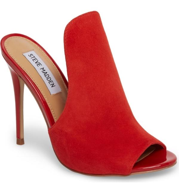 Steve Madden Sinful Sandal - Red
