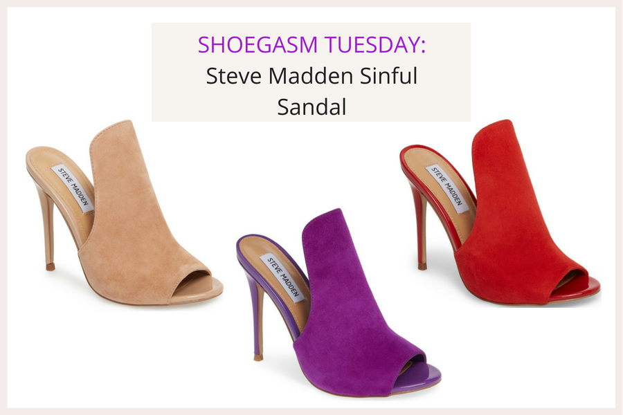 SHOEGASM TUESDAY_ Steve Madden Sinful Sandals