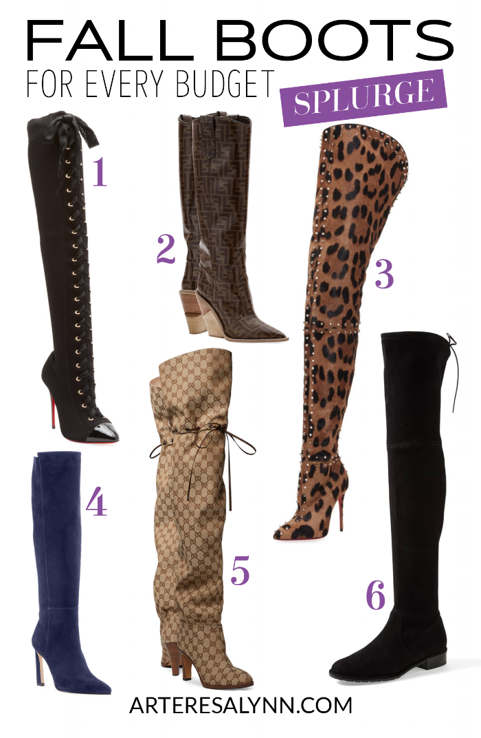 Fall/Winter Boots For Every Budget