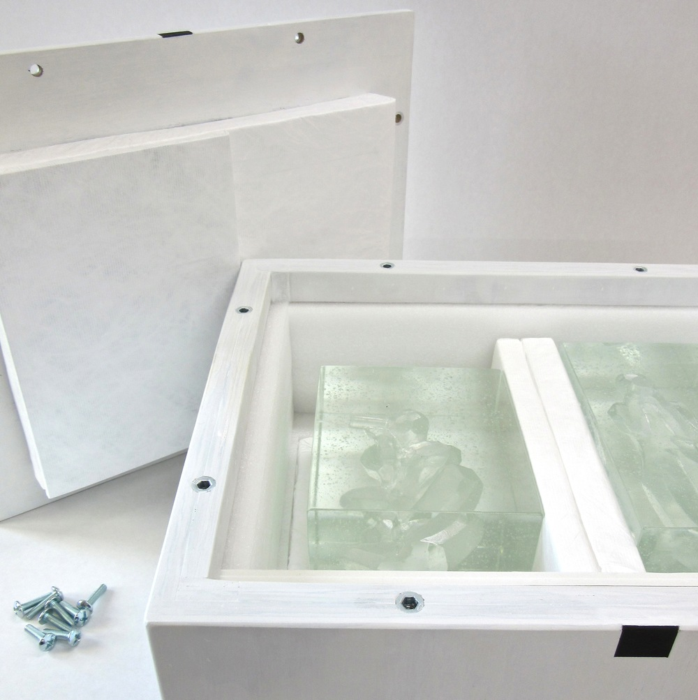 Travel Box for glass artist Di Tocker