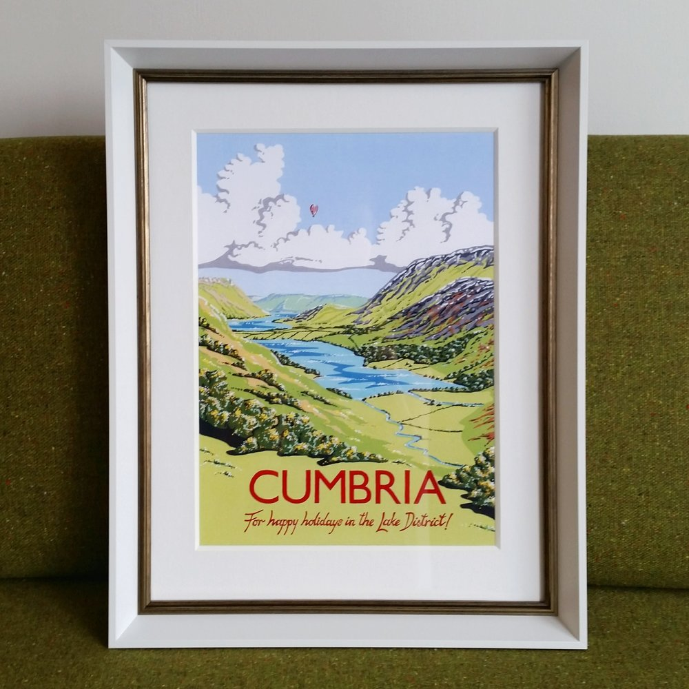 Cumbria Tourism poster
