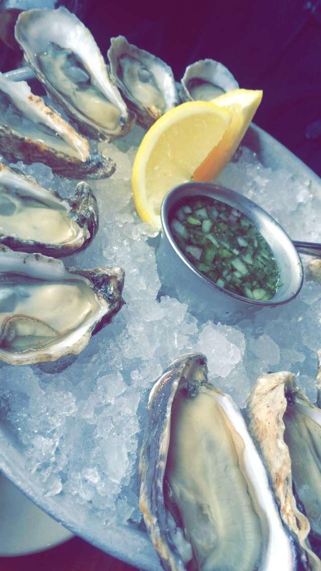 Oysters; San Diego, California