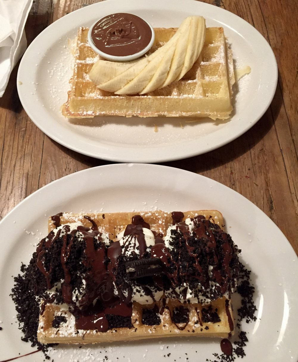 Dessert Waffle; Vancouver, Canada