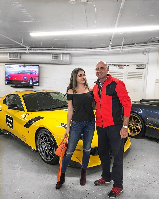 Thank you to @ferraricollector_davidlee for letting us take a look at his garage😍🔥 it was unreal!
