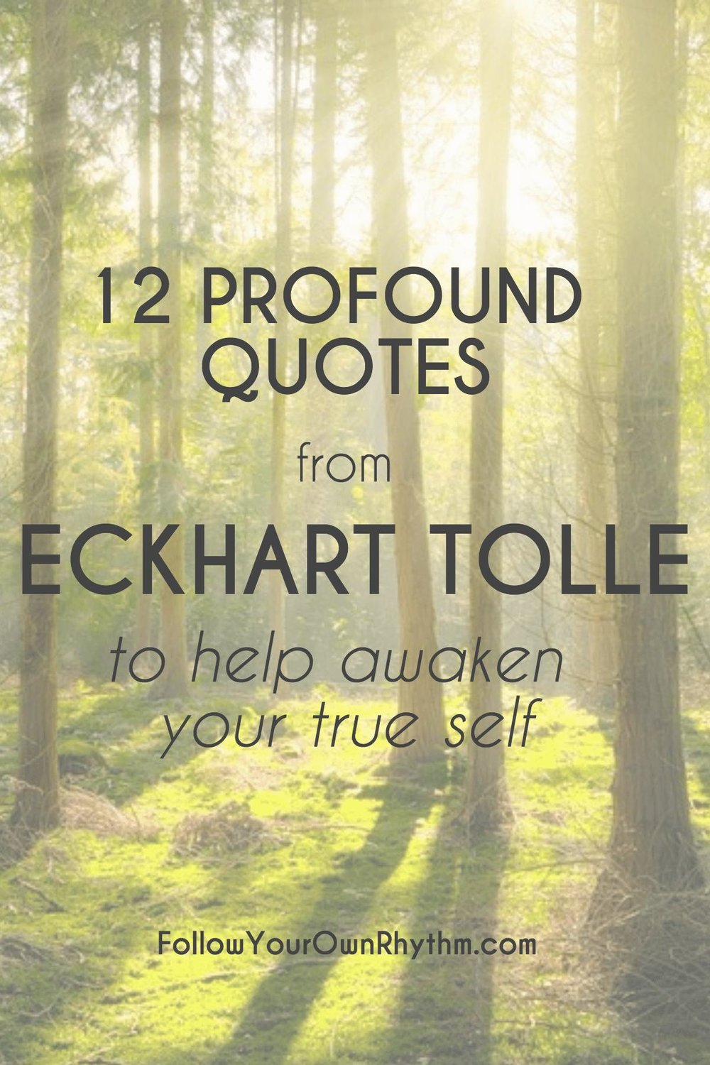 Eckhart Tolle Quotes | 12 Profound Quotes From Eckhart Tolle To Help Awaken Your True Self