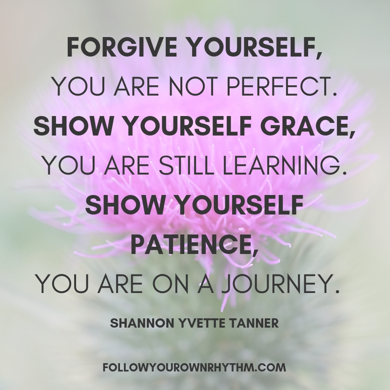 self-forgiveness quote